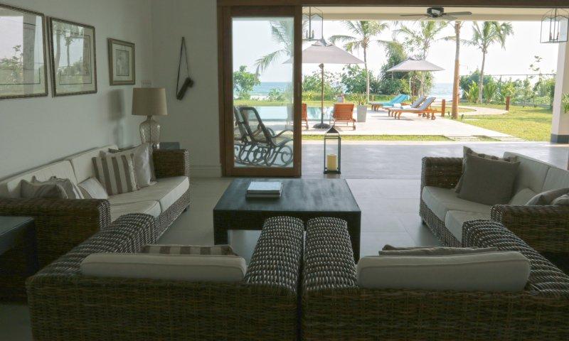 Indoor outdoor living in luxe comfort