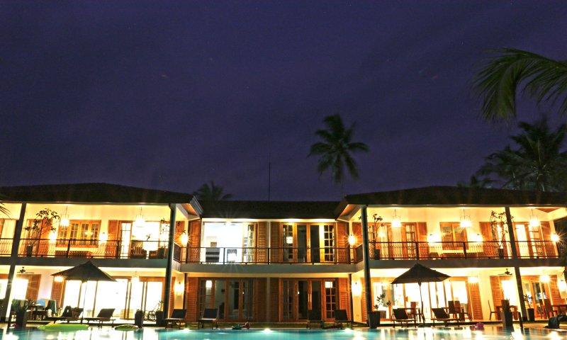 De 2 Villas Sri Lanka totale vastgoedportefeuille van de grotere groep die willen beide villa's