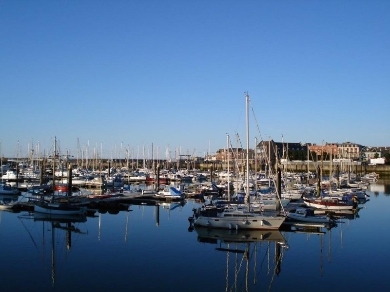 PENTHOUSE MARINA APARTMENT over looking Bangor Marina, location de vacances à Newtownards