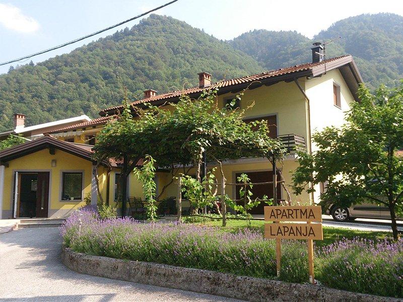 Apartma Lapanja 2, vacation rental in Most na Soci