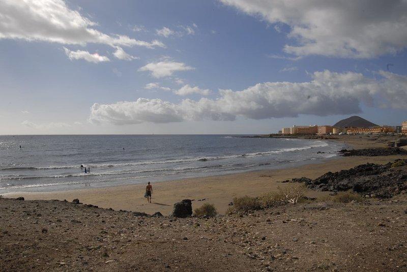 La playa mas cercana