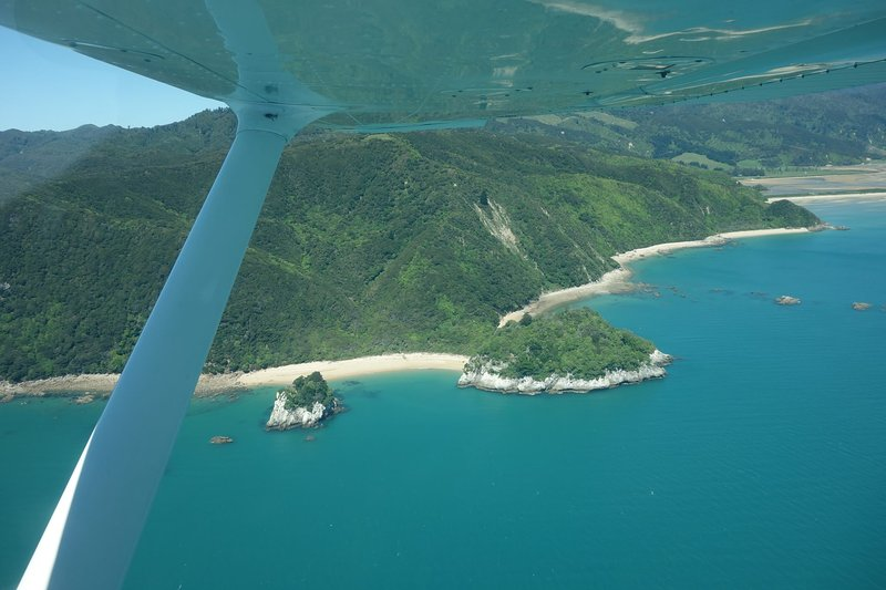 The stunning Abel Tasman National Park, only 45 minutes away