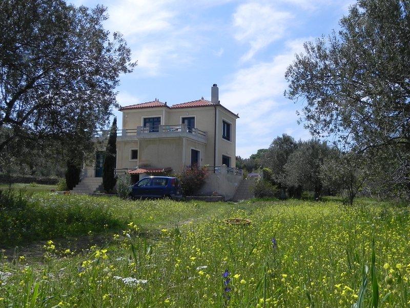 'Olive Garden' - Oase der Ruhe bei Molivos, holiday rental in Skala Kallonis