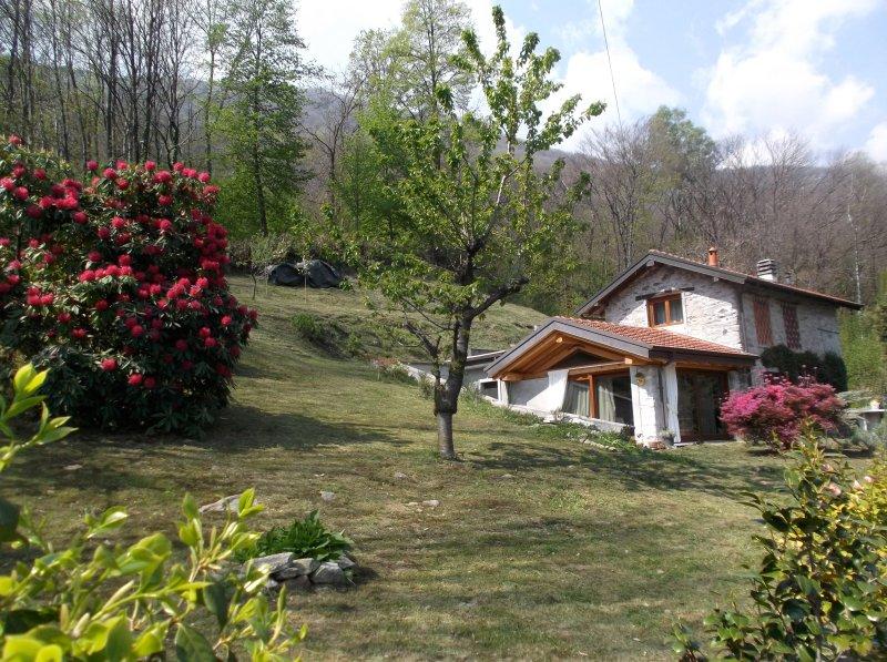 Bellissimo rustico a 7 km da Orta S.Giulio-Classic Italian chalets  restored, vacation rental in Casale Corte Cerro