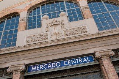 Central Market. 4 minutes