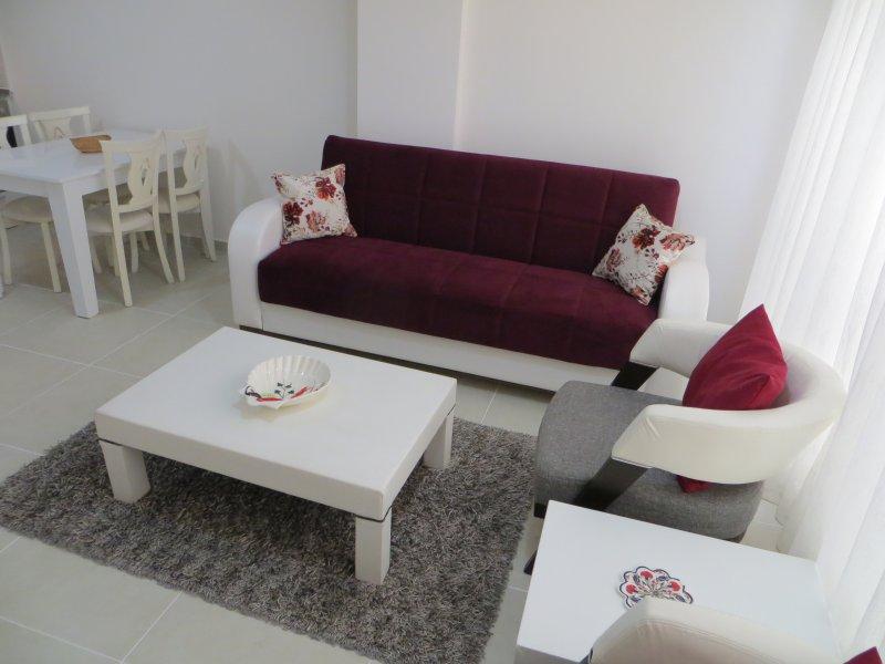 canapé et fauteuils confortables pour reposer dans.