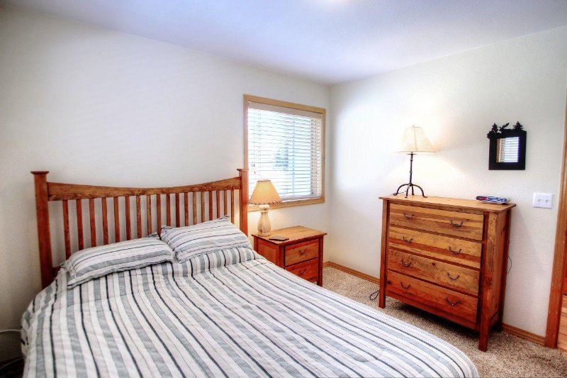 Queen Guest Bedroom - On main level of the home.