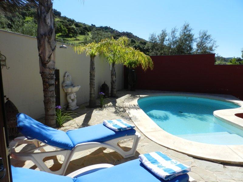 Rancho Riff Raff: logeren en/of paardrijden in het hart van Andalusië, alquiler vacacional en Álora