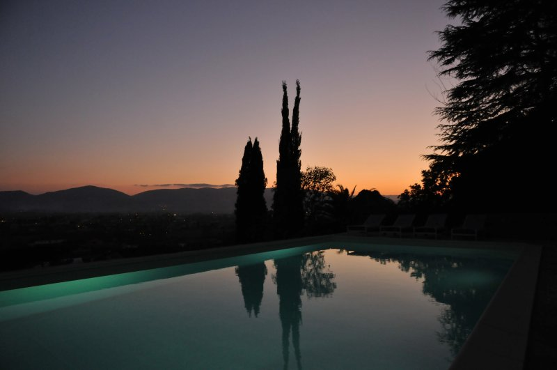 Villa Collina del Sole - Piscina ao pôr do sol