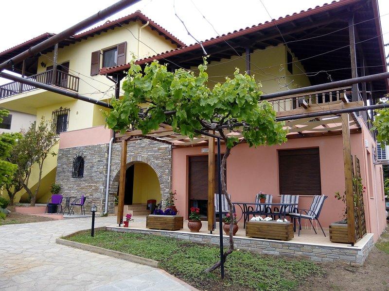 Sunday's family house studio, vacation rental in Ormos Panagias