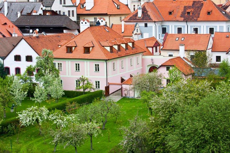 Vista del Orangerie