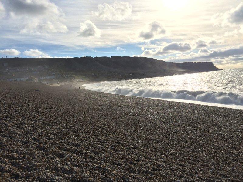 3min zu Fuß zum Strand Chesil