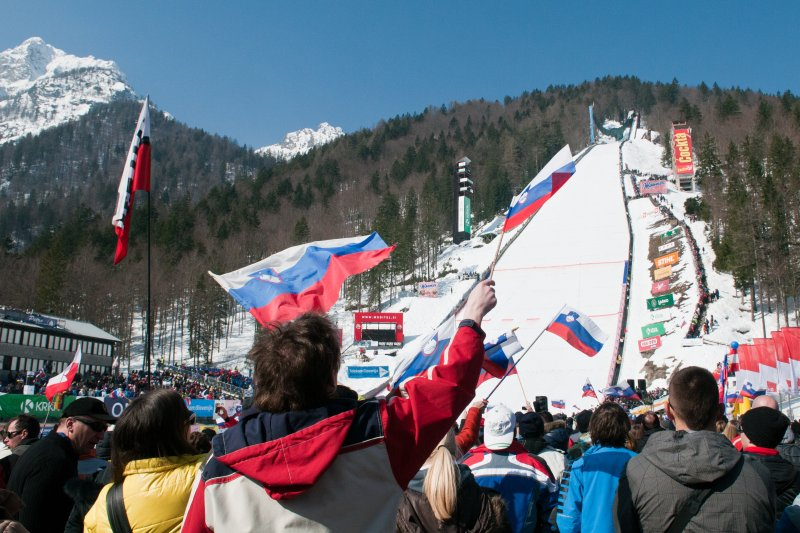 Planica ski jumping cometition