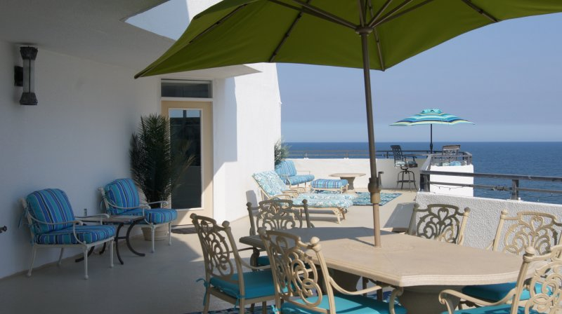 View of the ocean front the private 1000' balcony