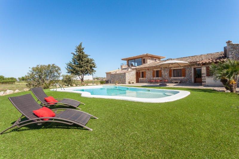 Finca Can Mel, vacation rental in Sa Pobla