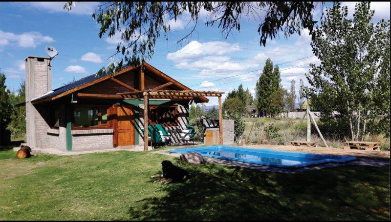 rincón de cacheuta, complejo de cabañas totalmente equipadas para 4 o 5 personas, alquiler de vacaciones en Las Heras