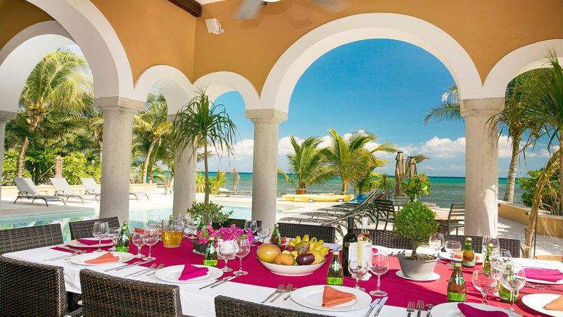 Riviera Maya Haciendas, Hacienda Magic - Beachside Al Fresco Dining