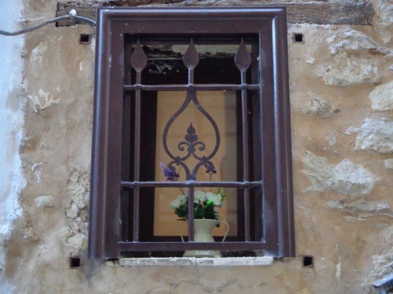 ventana en la escalera