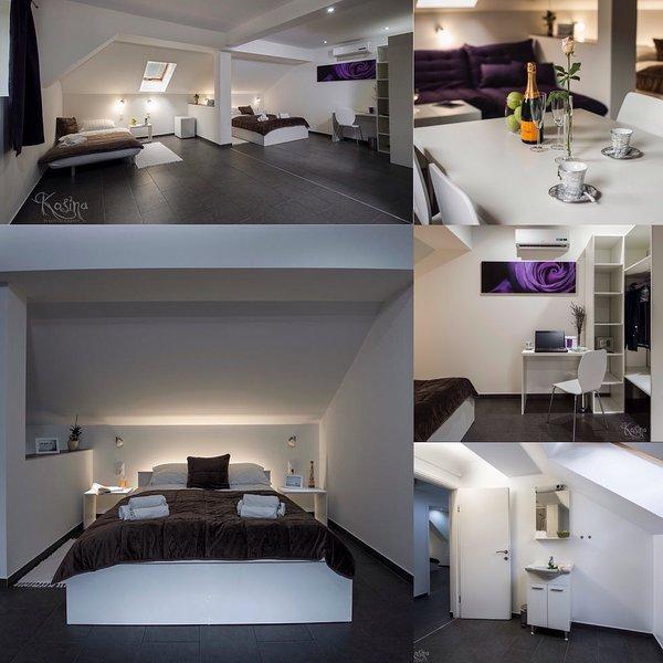 Komfort Vierbettzimmer ist auch unser Eigentum. Wenn Sie größere Zimmer benötigen Sie es buchen.