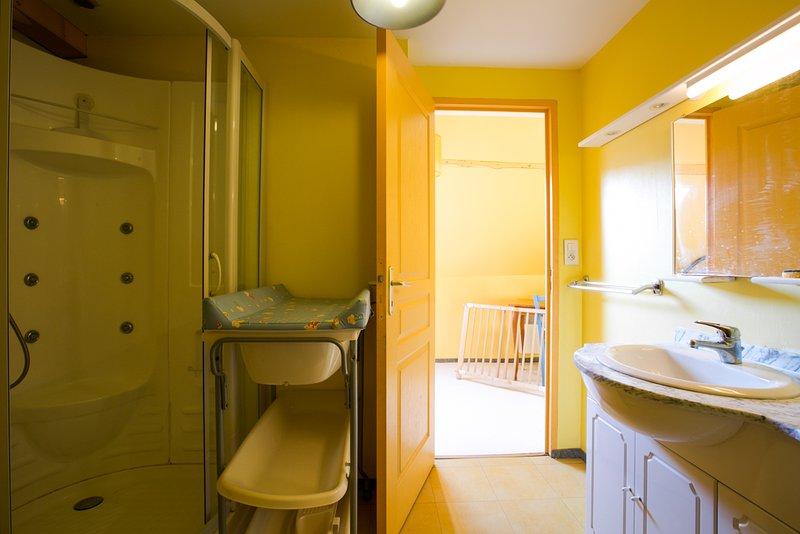 casa de banho quarto com wc