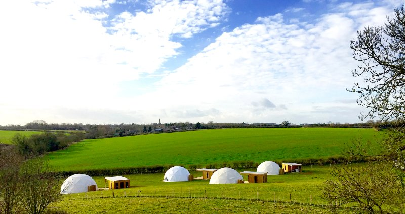 Each dome is individually designed and provides our guests with very versatile accommodation.