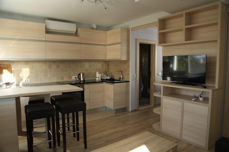Beautiful apartment near the beach – semesterbostad i Tivat