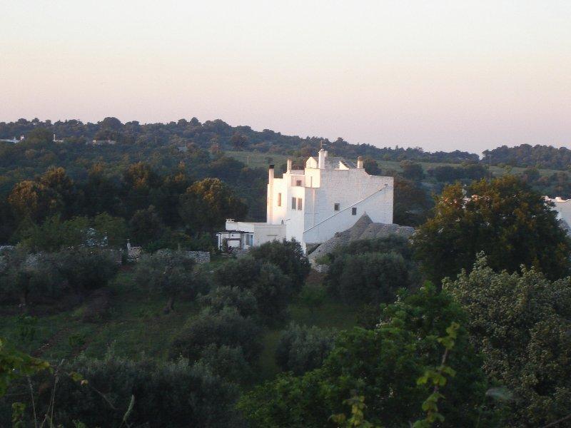 MASSERIA DEL 700 IMMERSA NELLA MACCHIA MEDITERRANEA, location de vacances à Cisternino