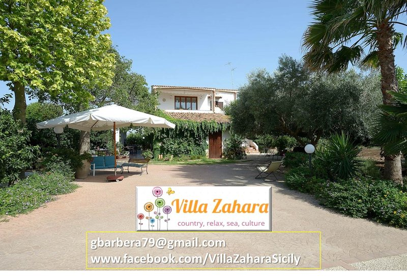 VILLA ZAHARA: Country holiday apartments, fully equipped and with garden/bbq/parking/internet
