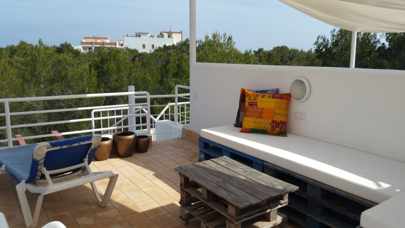 Roof terrace amenities