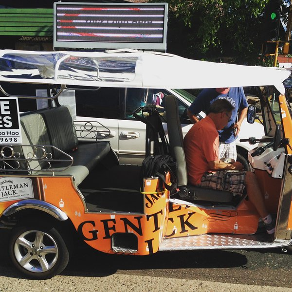 Call the Tuktuk to give you a lift and tour the town.