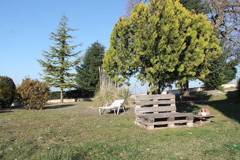 Panorama giardino.