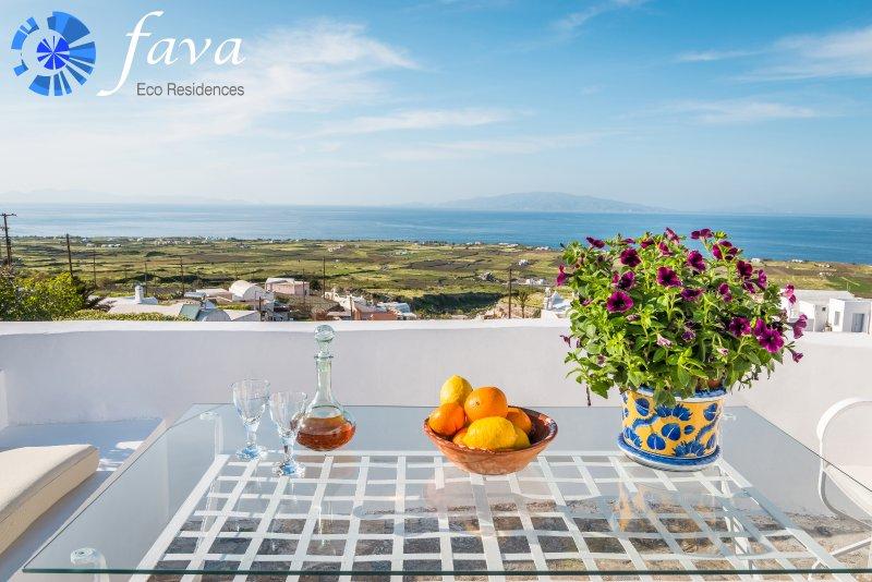 Fava Eco Residences - Villa Potamos, holiday rental in Oia