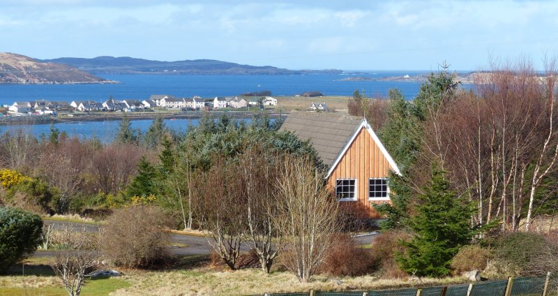 Lodge 5 - overlooking Aultbea and Loch Ewe