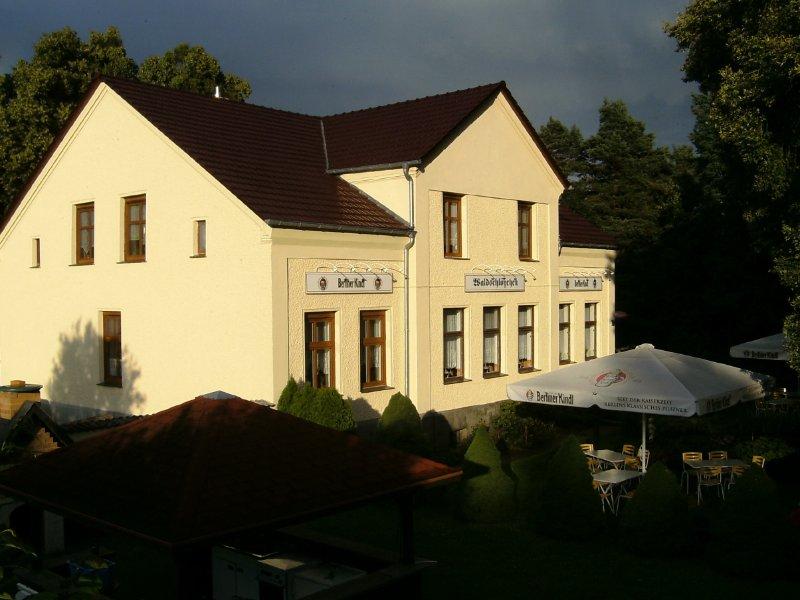 Restaurant & Pension Waldschlösschen, vacation rental in Baruth