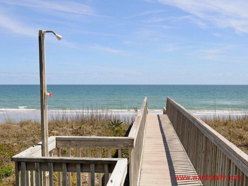 Boardwalk & Private Beach Access