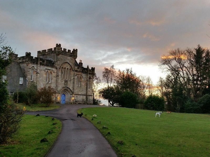 Craufurdland Castle - Tower House, Nr Glasgow, Our Castle ...your Family Home, holiday rental in Irvine