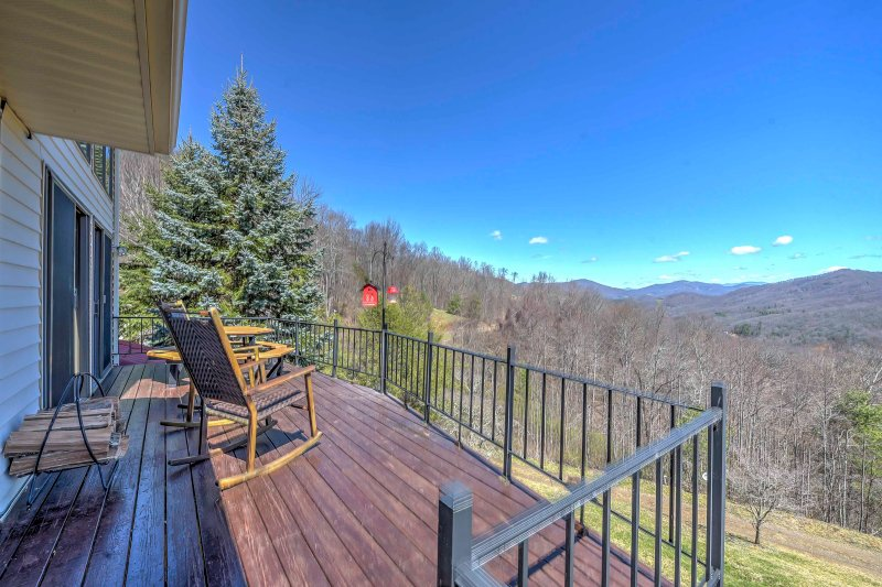 Picturesque views abound at this 4-bedroom, 3-bathroom home.