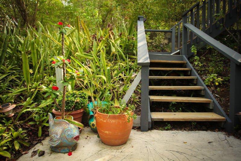 Escaleras a Villa Ilusión