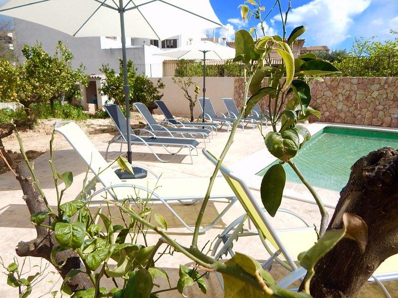 Villa Toni Maison Mancor de la Vall Mallorca Terrasse Piscine