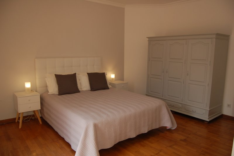 Bedroom 1 (first floor) With ensuite bathroom Bed size: 2,00mx1,60m