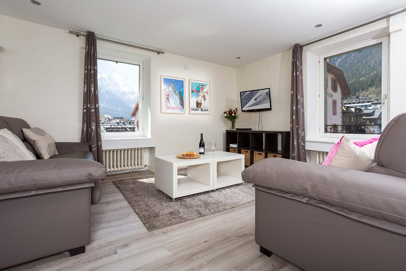 Stay at Apartment Le Beaulieu with 'Very Good' Property Manager 4.5/5, vacation rental in Chamonix