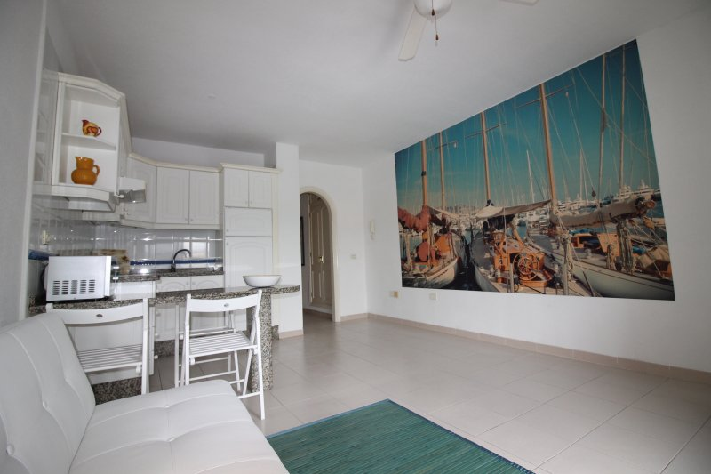 Quiet, sunny, beautiful, fully-equipped *WiFi*, holiday rental in Las Galletas