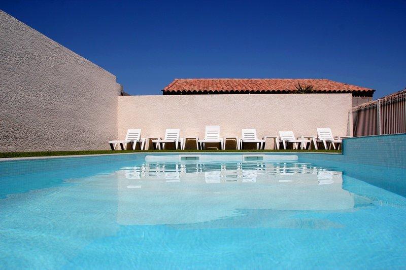 F3 climatisé avec piscine pour 6 personnes - Propriété : Les Lavandes du Moulin, vakantiewoning in Bassan