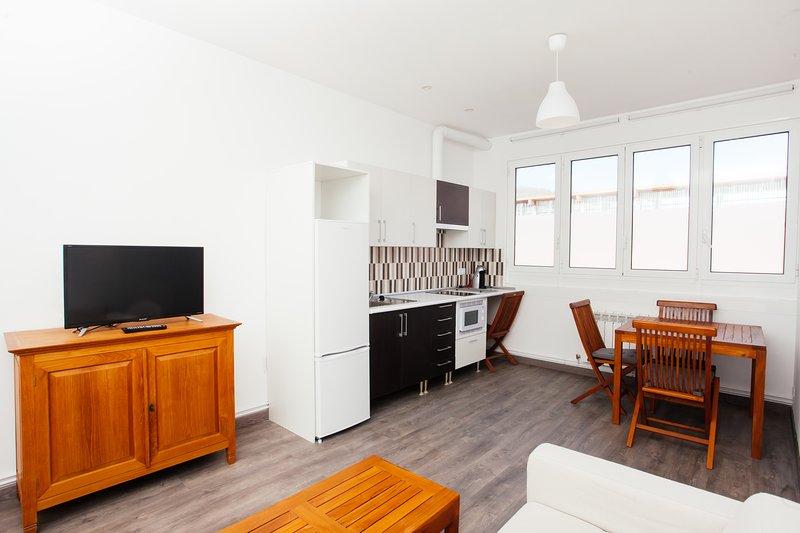 No 2 - Apartamento turístico nuevo al lado de San Sebastián, holiday rental in Lasarte-Oria