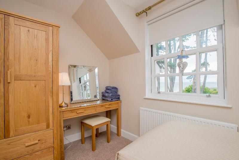 O quarto Nairn tem uma vista sobre o Moray Firth.