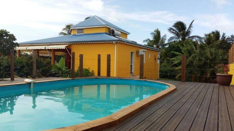 Villa de charme, vacation rental in Sainte Rose