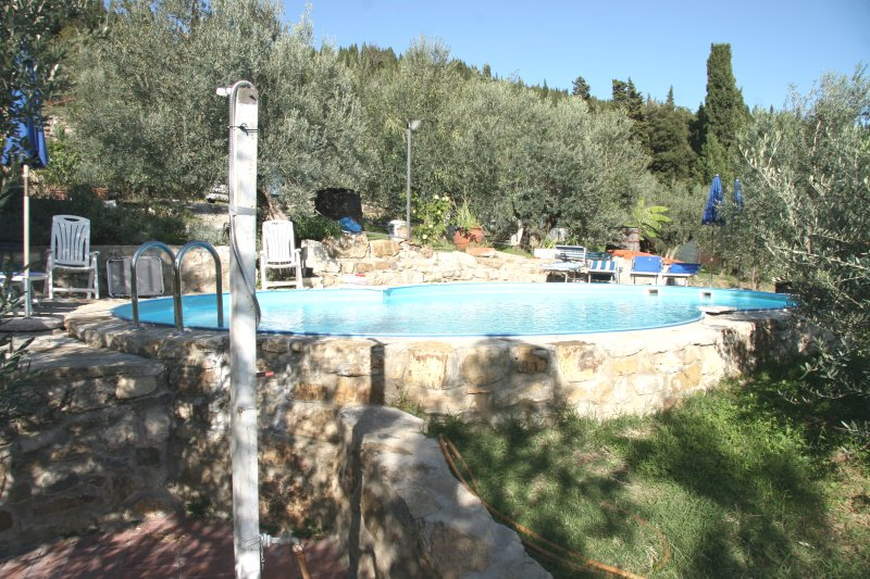 Amazing apartment with shared pool, vacation rental in Calenzano