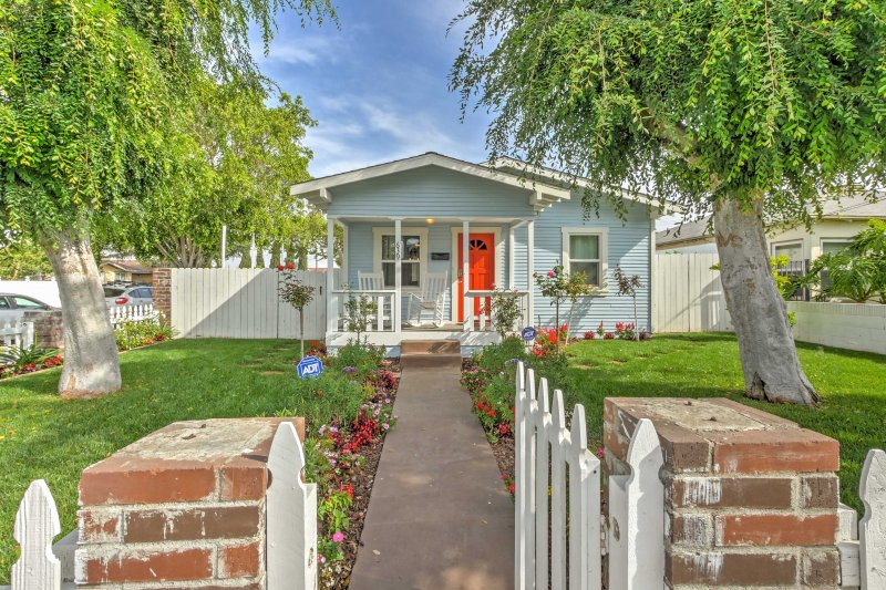 Explore the Circle of Orange and enjoy the California lifestyle from this newly renovated vacation rental home!