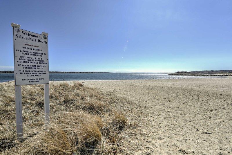 Réservez cette maison fabuleuse pour une escapade de plage parfaite à Marion!