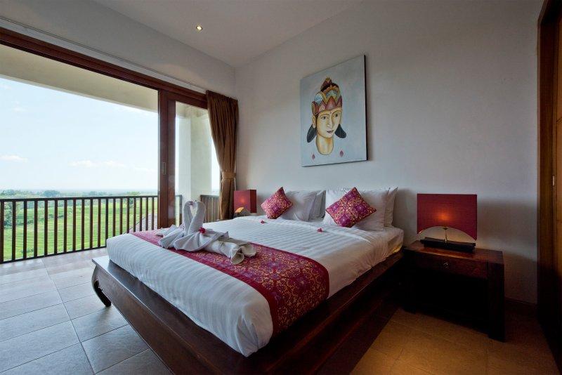 Sawah Villa D3, 2Br, holiday rental in Antap